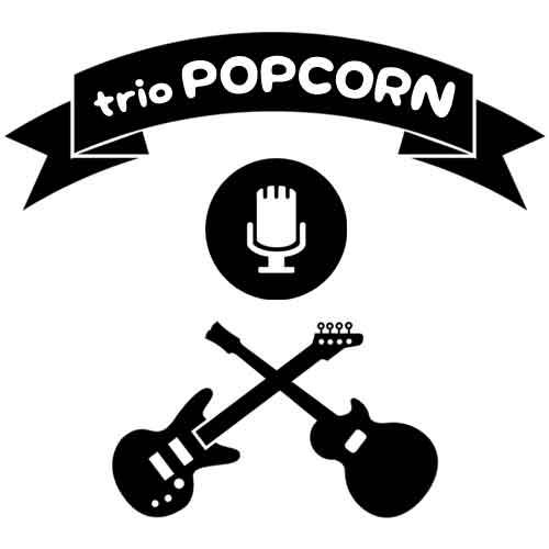 logo du groupe de musique gardois Triopopcorn