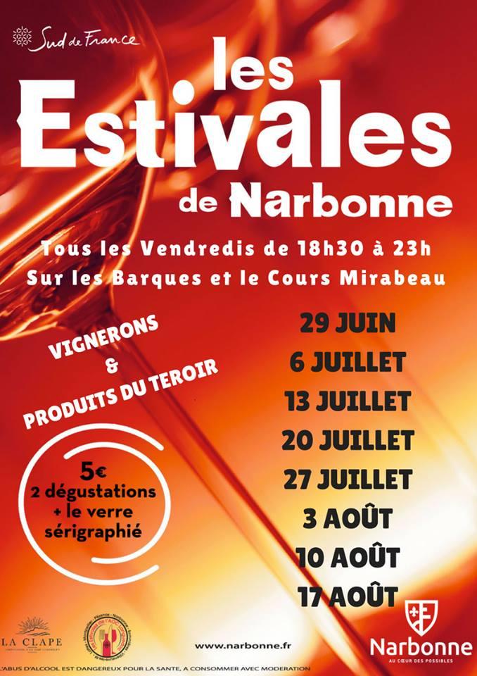les estivales de Narbonne