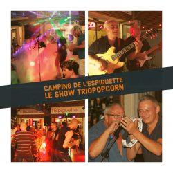 triopopcorn au camping de l'espiguette