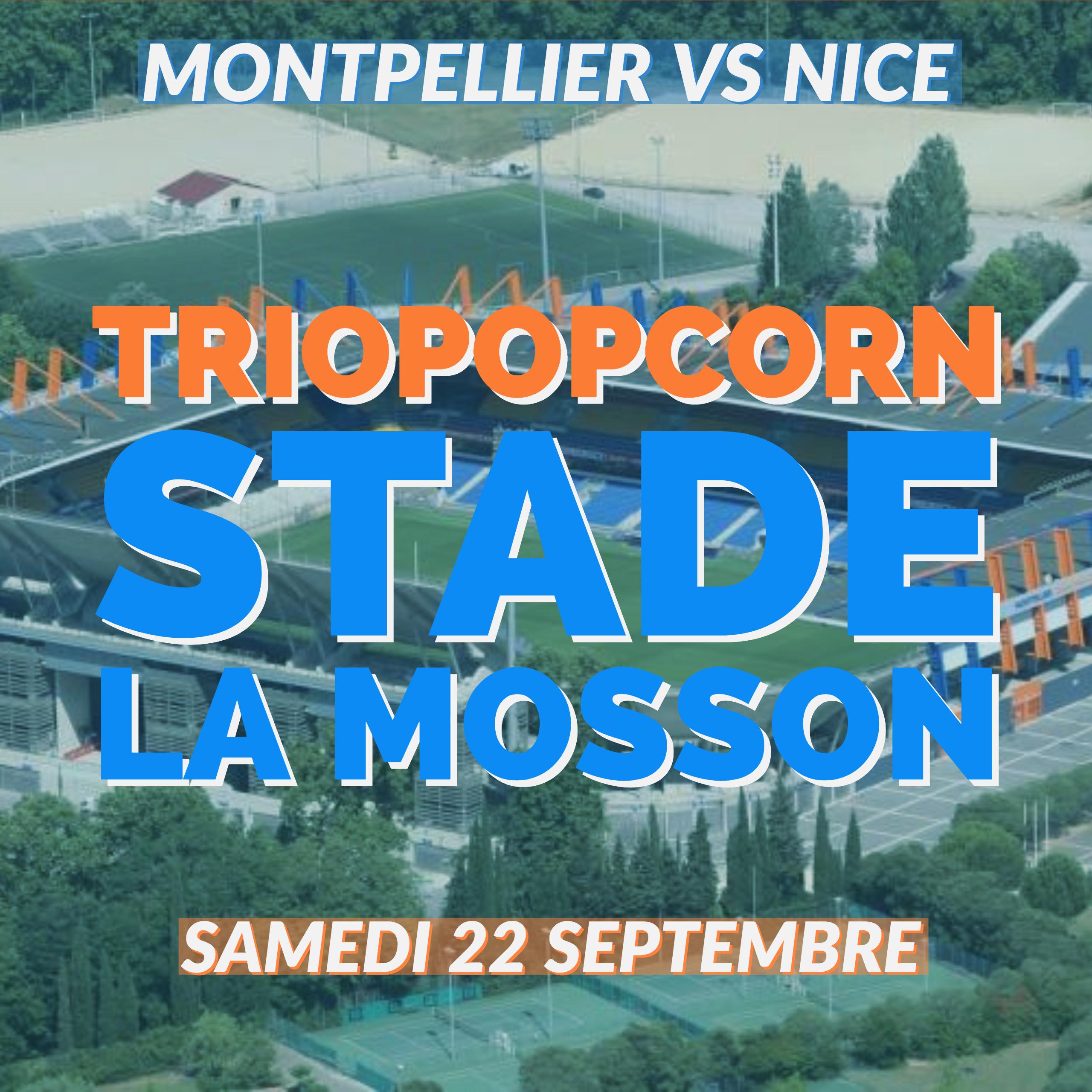 Match de ligue 1 Montpellier contre Nice