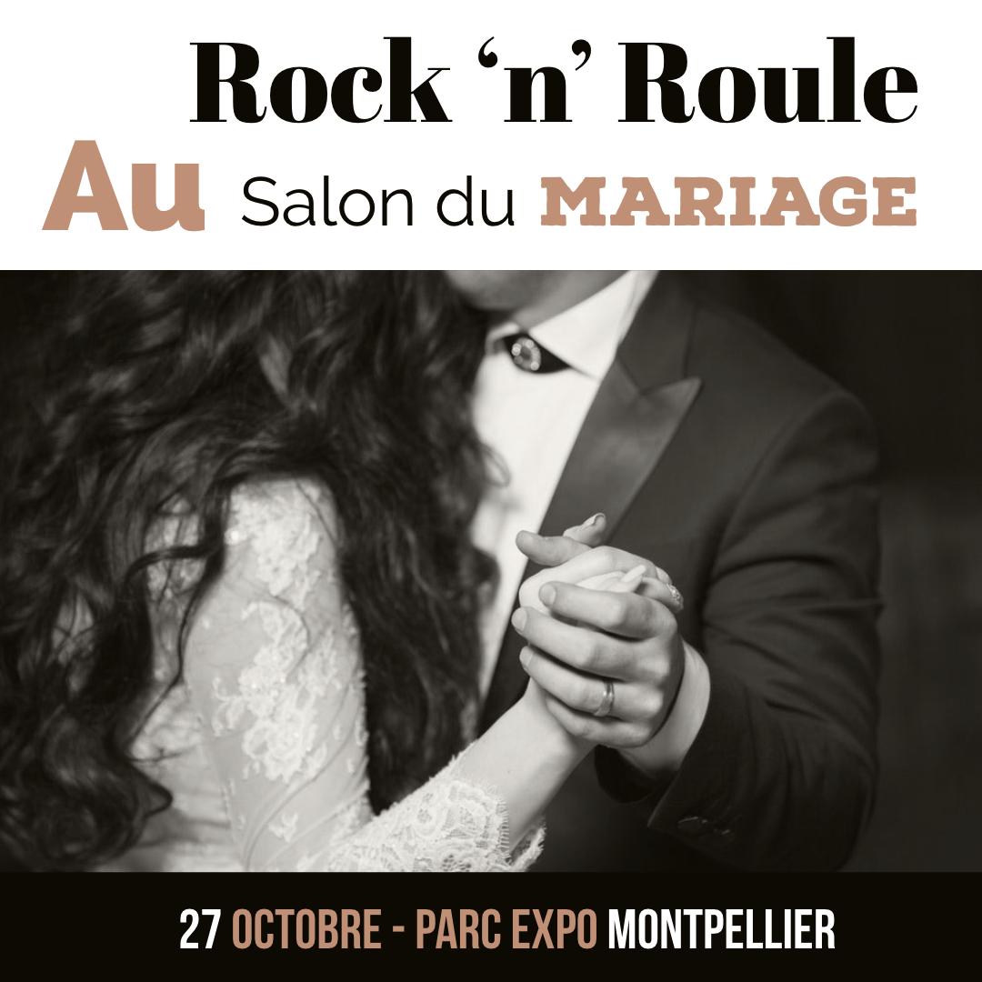 rock 'n' roule au salon du mariage au parc expo montpellier