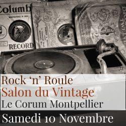 salon du vintage de montpellier avec rock 'n' roule