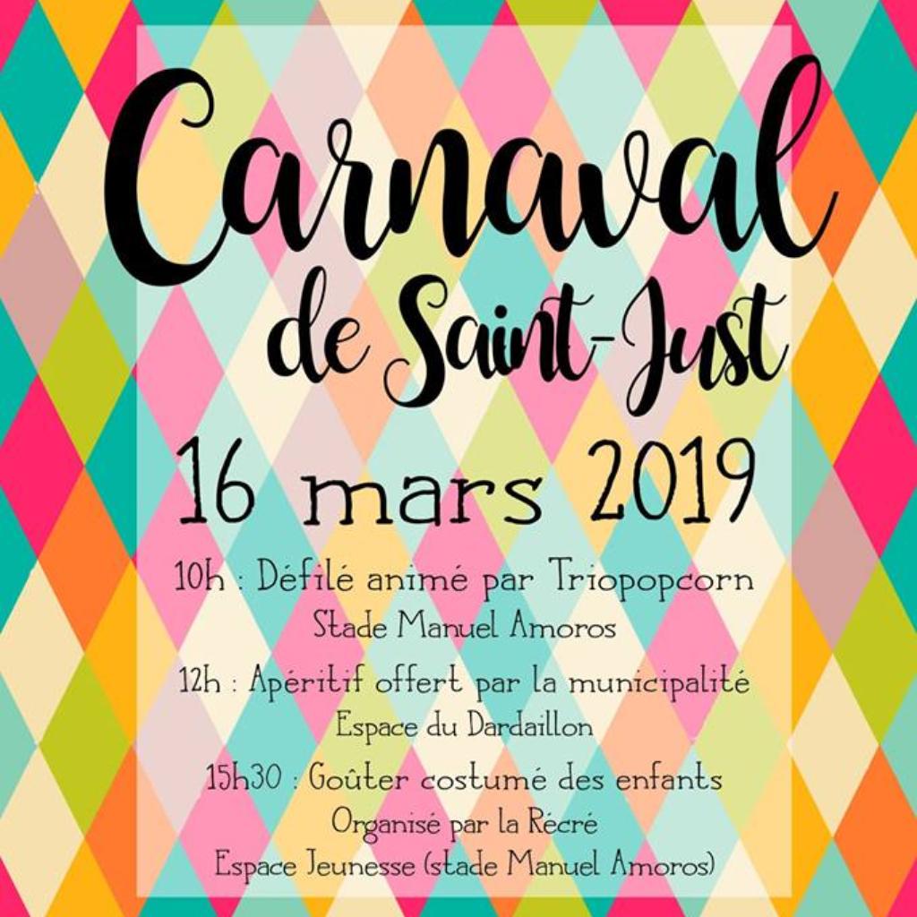 carnaval de Saint-Just dans l'hérault