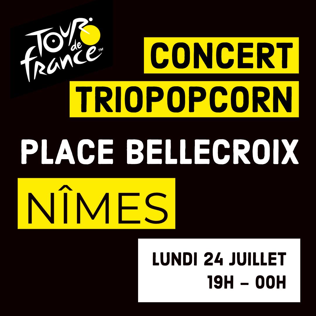 concert triopopcorn tour de france la boucle romaine