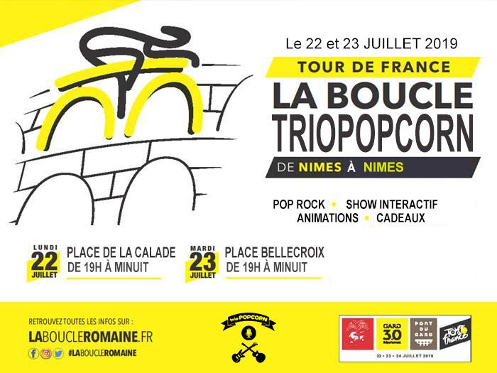 concert pop rock tour de france 2019