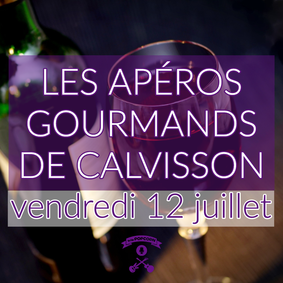 concert rock au apéros gourmands de calvisson