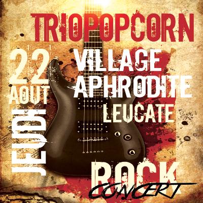 concert rock au village naturiste Aphrodite à Leucate