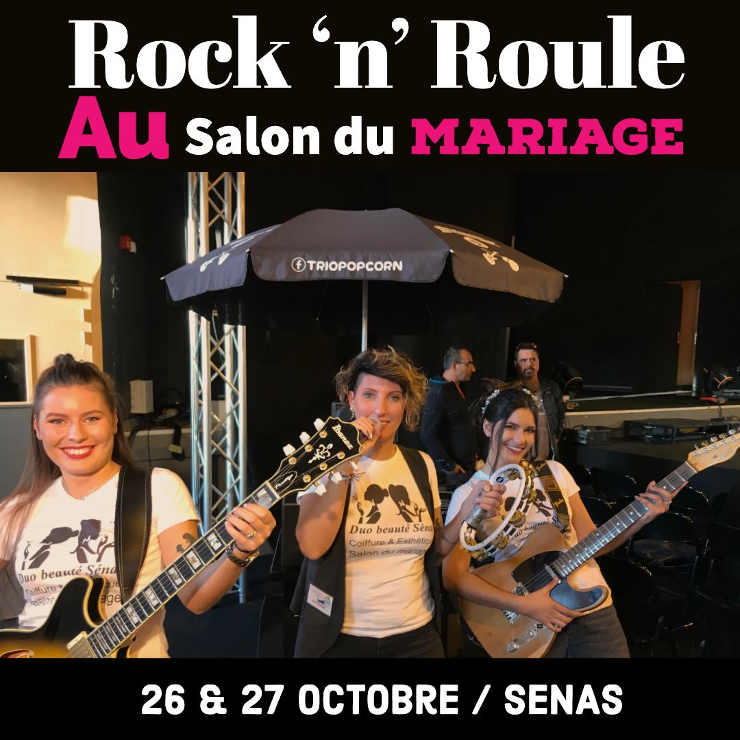 salon du mariage de senas avec rock 'n' roule