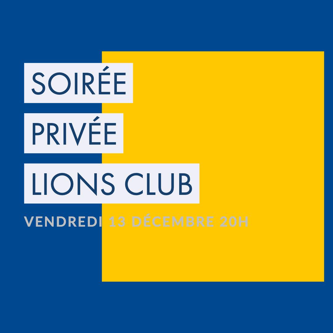 soirée lions club